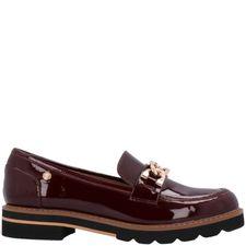 Zapato Casual Melanie Burgundy